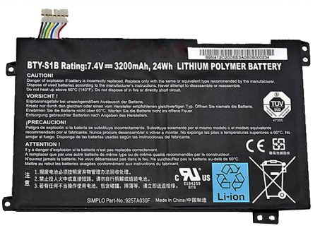 BTY-S1B laptop battery