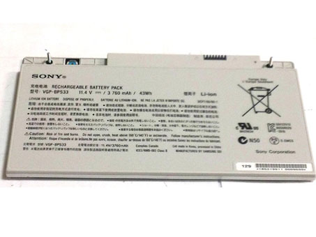 SONY VAIO T Touchscreen Ultrabooks Series laptop battery