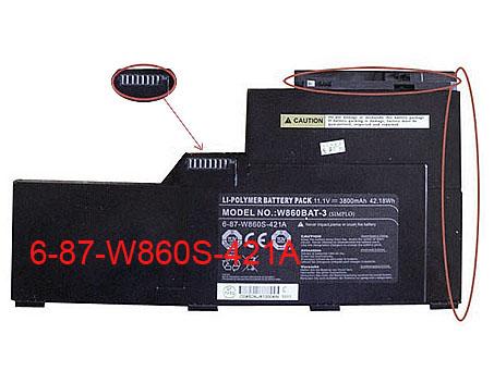 W860BAT-3 laptop battery